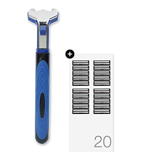Hajamat Ace II 2 Blade Manual Shaving Razor for Men (1 Handle 20 Blades) 17