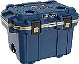Pelican Elite 30 Quart Cooler (Pacific Blue/Coyote)