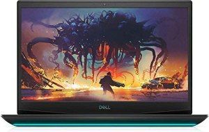 "Newest Dell G5 15.6"" FHD Gaming Laptop, i7-10750H, Backlit Keyboard, Bluetooth, USB-C, HDMI, Mini DP, NVIDIA GeForce GTX 1650 Ti, Windows 10 Home, Black (32GB RAM | 1TB PCIe SSD)"