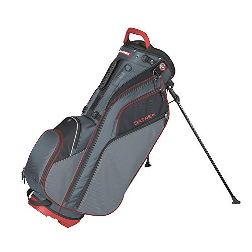 Datrek Unisex Go Lite Hybrid Stand Bag Charcoal/Red/Black