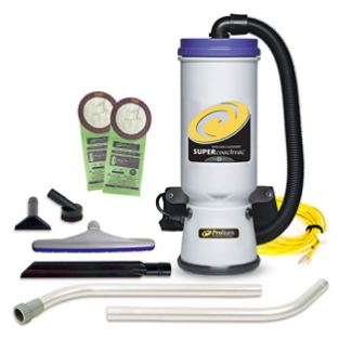 ProTeam-Commercial-Backpack-Vacuum-Super-CoachVac-Vacuum-Backpack-with-HEPA-Media-Filtration-and-Xover-Multi-Surface-2-Piece-Wand-Tool-Kit-10-quart-Corded