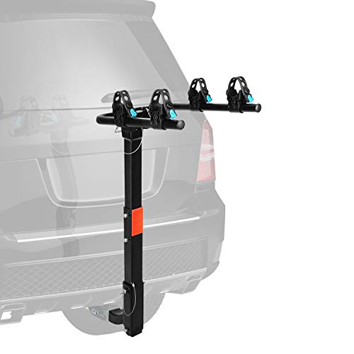 XCAR 2-Bike Bicycle Hitch Mount Carrier Rack Heavy Duty for Cars, Trucks, SUV's Hatchbacks with 2' Hitch Receiver
