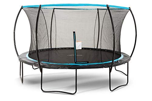 SkyBound Cirrus 14 Foot Trampoline with Updated Safety Net & Top Ring for 2019 - Exceeds ASTM Safety Rating Construction - Built to Last