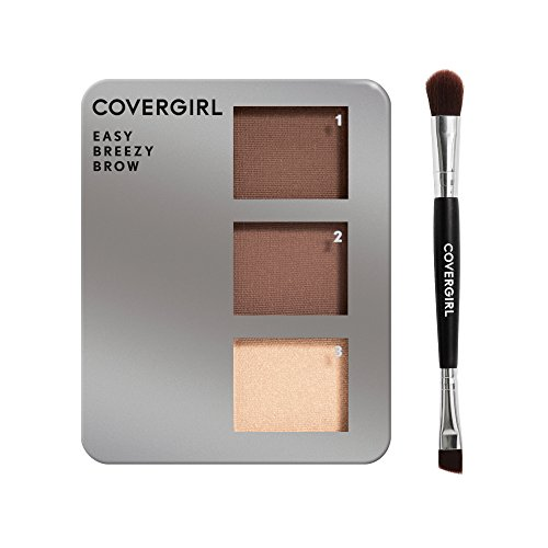 COVERGIRL Easy Breezy Brow Powder Kit, Honey Brown (packaging may vary)
