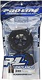 Proline 117313 Badlands 2.8' All Terrain Tire Mounted on Desperado Black Rear Wheel