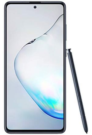 Samsung Galaxy Note10 Lite (Aura Black, 8GB RAM, 128GB Storage) with No Cost EMI/Additional Exchange Offers