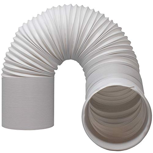 Kraftex Air Conditioner Hose. Portable Exhaust Vent with 5.9' Diameter - Length up to 80'. Great for LG, Delonghi and Many More Portable Air Conditioners. AC Hose to Stop Leaks and Save Energy (5.9')