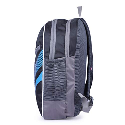 41AupbCwUxL - Ayzon Backpack for Girls & Boys | Stylish Trendy Bag | Bag for Boys Kids Girls 15.6 inch Laptop Backpack | Waterproof School Bag (Black)