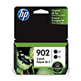 HP 902 Black Ink Cartridge (T6L98AN), 2 Cartridges (3YN96AN)
