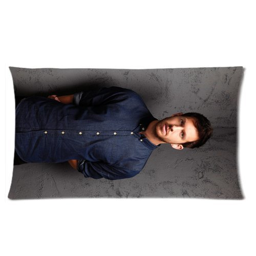 2015 New free shipping cotton square Pillow Cover home Decorative pillowcase Print Popular Singer Calvin Harris Cool Man Pictures Size 20x36in