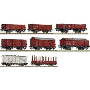Roco 44002 RC44002 HO DB 8 WAGON SET III 41B250P2V6L