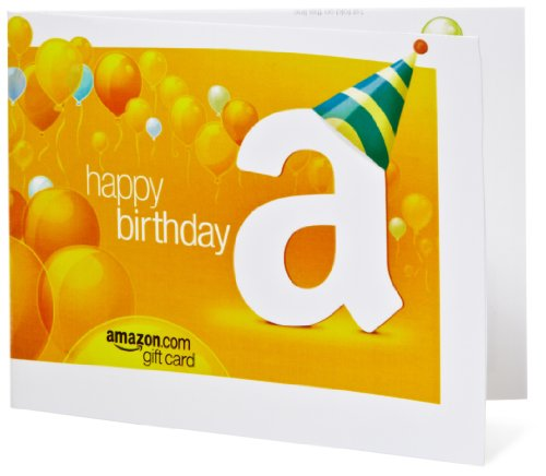 Amazon Gift Card: Happy Birthday!