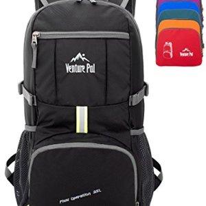 Venture Pal 35L Travel Backpack – Packable Durable Lightweight Hiking Backpack Daypack