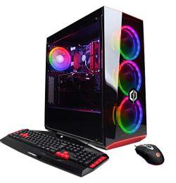 CYBERPOWERPC Gamer Xtreme VR GXiVR8520A Gaming PC (Intel Core i7-8700 3.2GHz, 16GB DDR4, NVIDIA GeForce GTX 1660 Ti 6GB, 120GB SSD, 1TB HDD, WiFi & Win 10) Black