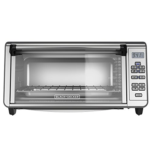 BlackDecker-TO3290XSBD-Toaster-Oven-8-Slice-Stainless-Steel