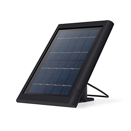 Ring Super Solar Panel - Compatible with Ring Spotlight Cam Battery and Stick Up Cam Battery - Black