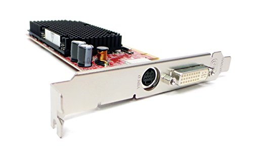 Dell, ATI Radeon HJ513 ATI Radeon X1300 128MB DVI S-Video PCI-E Video Graphics Card Compatible Part Numbers HJ513 NP720 89
