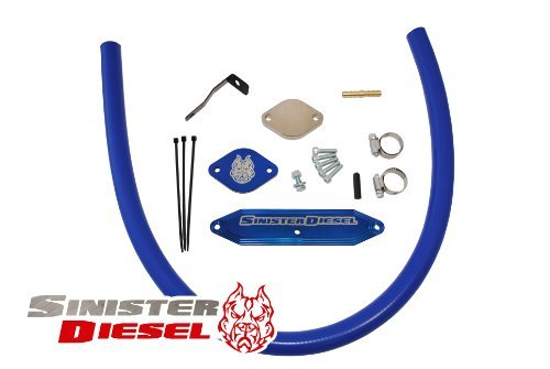 6.7L Ford Powerstroke EGR Delete Kit 2011-12 by Sinister