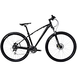 Tommaso 2018 Gran Sasso 29er Mounain Bike Hydraulic Disc Hardtail Best Looking MTB Matte Black 100mm Travel Suspension