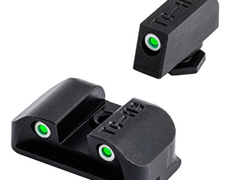 Tritium Handgun Glow-in-the-Dark Night Sights for Glock Pistols, Glock 17, 17L, 19, 22, 23, 24 and more