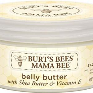 Burt's Bees Mama Bee Belly Butter, Fragrance Free Lotion, 6.5 Ounce Tub 41BPn4ibpHL