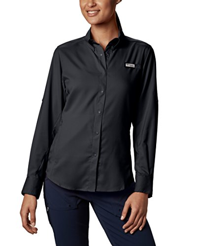 Columbia Women's Plus-Size Tamiami II Long Sleeve Shirt - 2X - Black