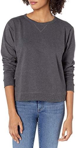 Hanes Women's V-Notch Pullover Fleece Sweatshirt