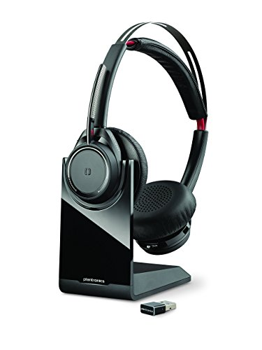 Plantronics Voyager Focus UC Bluetooth USB B825 202652-01 Headset with Active Noise Cancelling (Renewed)