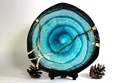 Kintsugi - Blue Bronze (Large)