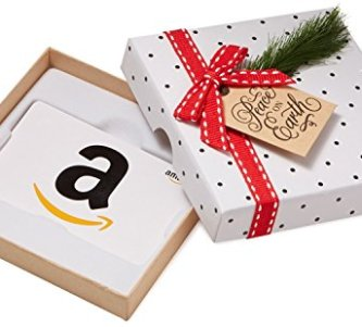 Amazon Gift Card In A Holiday Sprig Box
