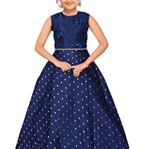 4 YOU Fancy Girl Long Frock (Blue)