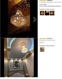 Lyse-DecorCrystal-Ceiling-ChandelierJhoomar-Large-Size-480mm-48CM-for-Dining-Hall-Restaurant-Home-Decor
