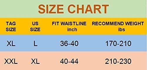 Men Tummy Control Shorts High Waist Training Compression Shaper Pants Body Shaper Seamless Belly Girdle Boxer Briefs 7