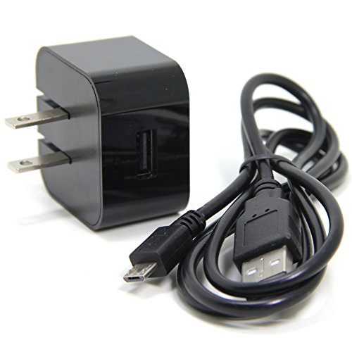 Kindle Fire Charger, Ancable 5V 2A USB Charger Power Adapter with 10-Feet Micro-USB Cable for Amazon Fire Tablets and Kindle eReaders,Micro-USB Charged Tablets and Phones