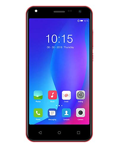 EL Y50 Volte Smartphone (1GB/8GB, Red) 11