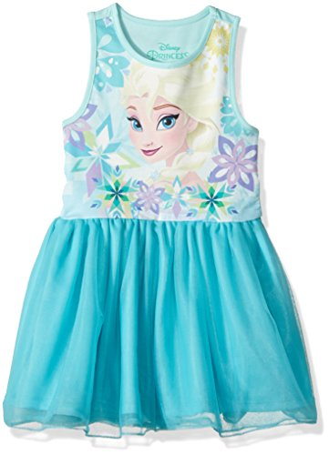 Disney Girls' Toddler Frozen Elsa Ruffle Dress