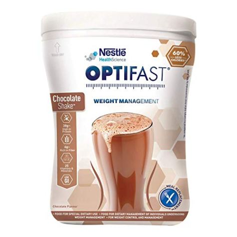 Nestlé Optifast Scientifically Designed Weight Loss Diet, 400g Pet Jar Pack (Chocolate Flavour)