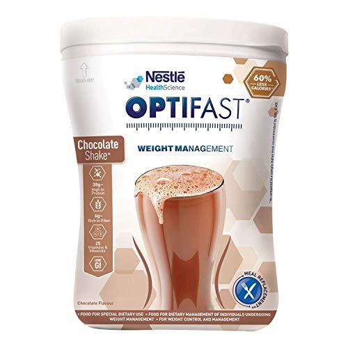 Nestlé Optifast Scientifically Designed Weight Loss Diet, 400g Pet Jar Pack (Chocolate Flavour)