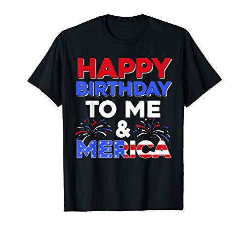 It's My Birthday July 4th American Independence Day Gift T-Shirt