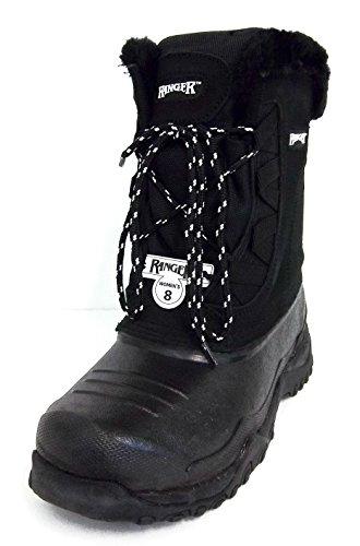 Norcross Ranger Womens A629 Sparrow Snow Boot Black (8)