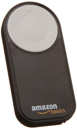 AmazonBasics Wireless Remote Control for Canon and Nikon DSLR Cameras