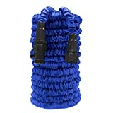 Garden Hose, Water Hose, 75ft Lightweight Expandable Garden Hose with 3/4' Solid Fittings, Double Latex Core, Extra Strength Fabric, Flexible Expanding Hose for Outdoor Lawn Car Watering Plants