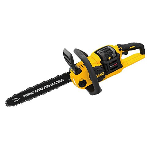 DEWALT DCCS670X1 FLEXVOLT 60V MAX Lithium-Ion Brushless 16' Cordless Chainsaw Kit (3.0AH)