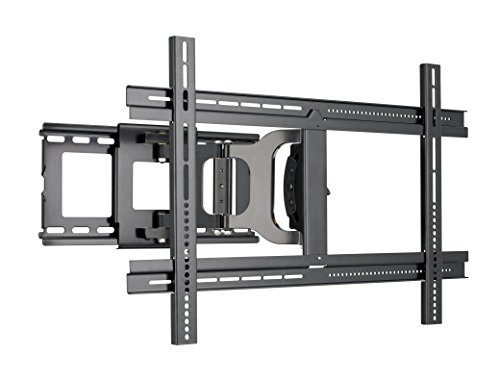 Sanus MLF13-B1 Articulating Universal Wall Mount for 37-80-Inch Screen