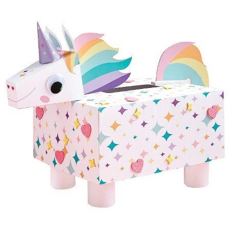 Valentines Day Mailbox Decorating Kit Unicorn