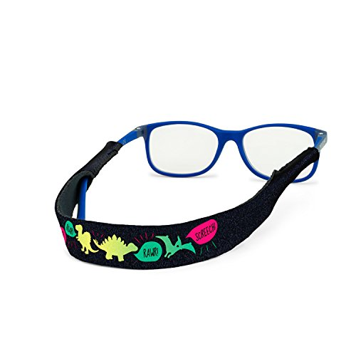 Croakies Kids' Eyewear Retainer, RAWWWR!, 13'