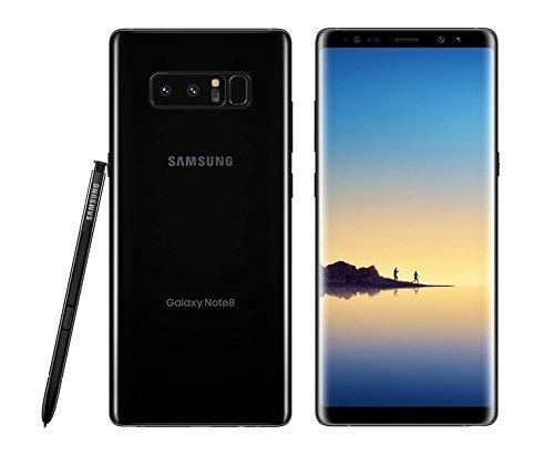 Hasil gambar untuk Samsung Galaxy Note 8 - Midnight Black