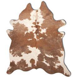 Natural Brown Cowhide Rug 5 x 7