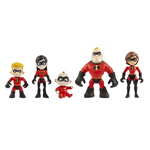 The Incredibles 2 Family 5-Pack Figures – LOW PRICE