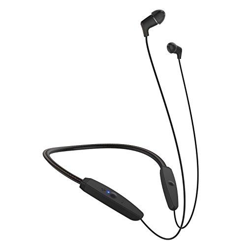 Klipsch Audifonos Bluetooth, Banda de Cuello, Color Negro